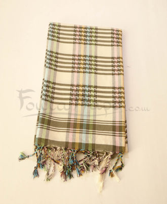 The Fouta Stole Harlequin