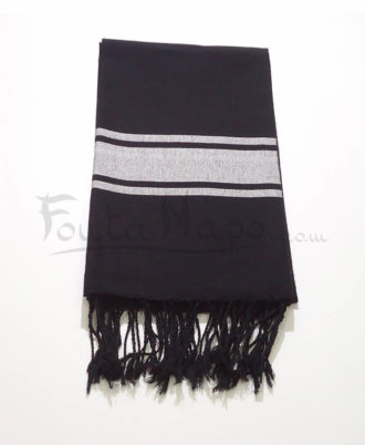 The Fouta Towel Black Djampou
