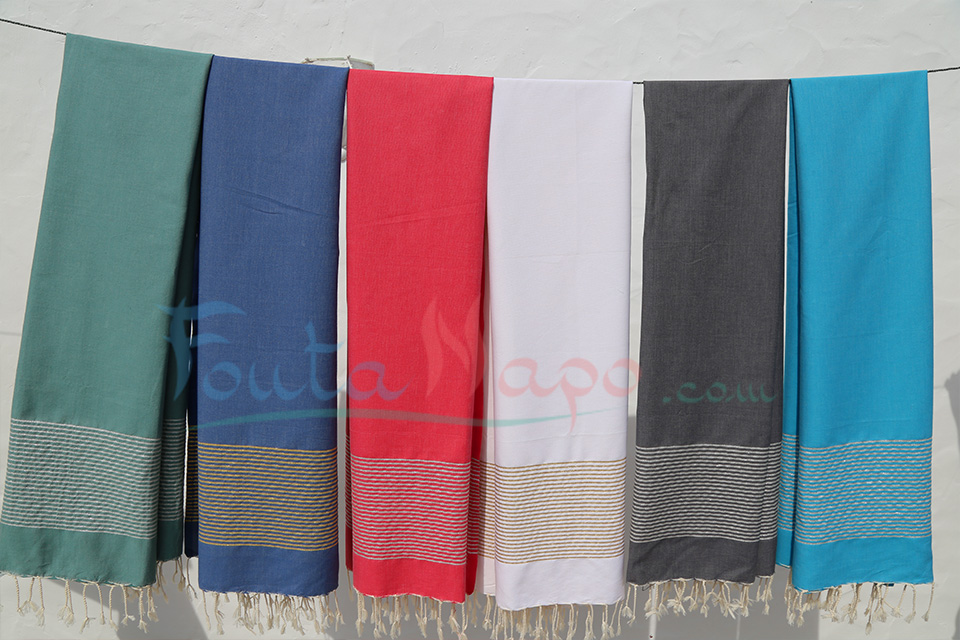 The Tunisian Foutas Towels